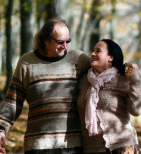 Christie & Zdenek- walk